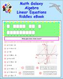 Math Galaxy Algebra Linear Equations Riddles eBook