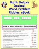 Math Galaxy Decimal Word Problems Riddles eBook