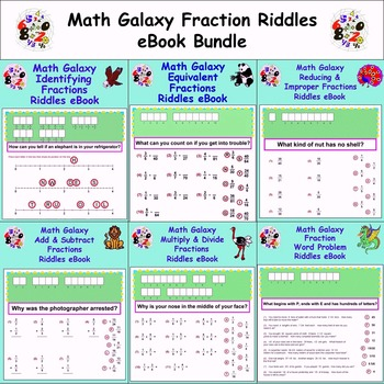 Multiply Fractions Riddle Teaching Resources | Teachers Pay Teachers