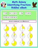 Math Galaxy Identifying Fractions Riddles eBook
