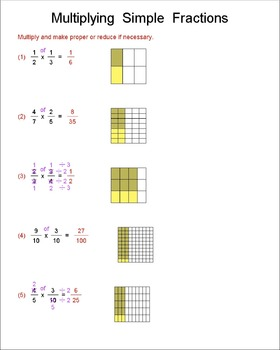 Math Galaxy Multiply & Divide Fractions Riddles eBook