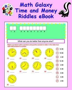 Math Galaxy Whole Number Riddles eBook Bundle