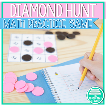 Math Game: Addition, Subtraction, and Multiplication (Diam