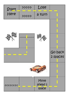 Math Game-Addition (Traffic Themed)