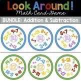 Addition and Subtraction Math Games BUNDLE