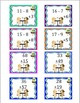 Spring Break Review Math Game!  Addition Subtraction Ice C