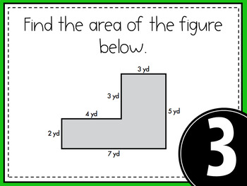 Math Game - Area and Perimeter