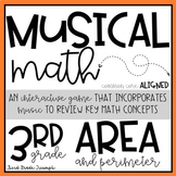 Math Game - Area and Perimeter
