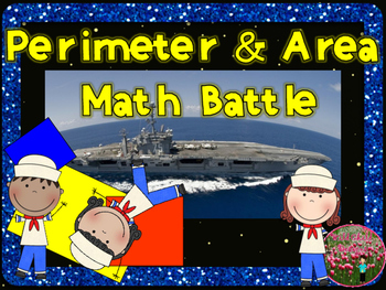 Math Game: Area and Perimeter Battles