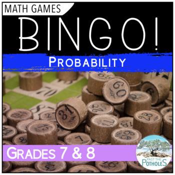 Math Game - BINGO - Probability - Data Management