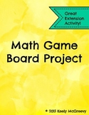 Math Game Board Project