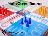 Math Game Board Projects