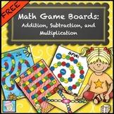 Math Centers Kindergarten 1st 2nd 3rd | Math Games Kindergarten 1st 2nd 3rd FREE