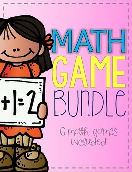 Math Game Bundle {6 math games included}
