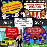 3rd Grade Math Games Bundle {Rounding, Addition, Subtraction & More!}