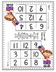 Math Game COVER-ALL ADDITION: Dice Game for Partners (Patriotic Theme)
