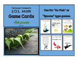 Math Game Cards for Virginia SOLs