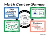 Math Game Centers