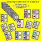 Math Game Comparing Fractions War 3.NF.A.3, 4.NF.A.1, 4.NF.A.2