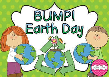 Bump! Earth Day Themed Math Game Board