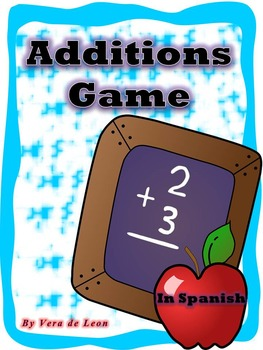 Math Game - Additions Game / Spanish