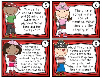 Elapsed Time Game - Elapsed Time Word Problems