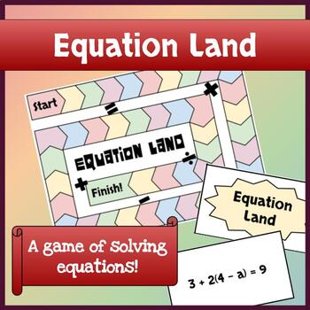 Math Game - Equation Land