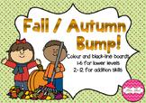 BUMP! Fall / Autumn Themed Game Board