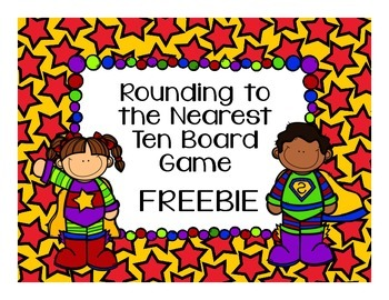 Math Game Freebie! Rounding to the Nearest Ten