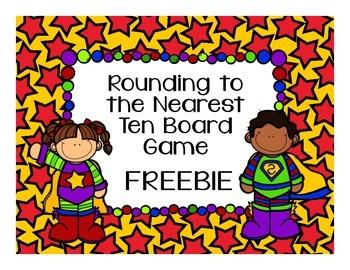 Math Game Freebie! Rounding to the Nearest Ten