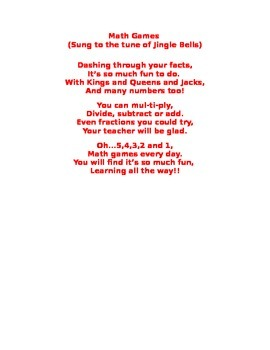 Math Game Jingle
