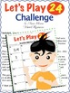 'Let's Play 24 Challenge' - A Task Cards Game for all your existing Task Cards