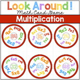 MULTIPLICATION GAME Look Around! Math Game for Multiplication Review