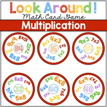 Multiplication Game | Look Around! Math Games
