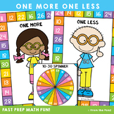 Math Game - One More One Less Numbers to 30
