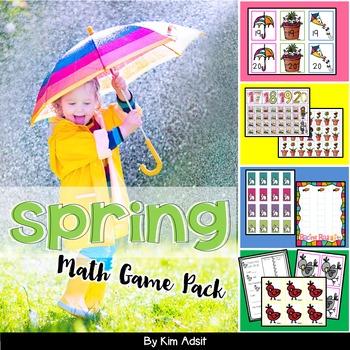 Math Game Pack Bundle #3 by Kim Adsit