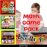 Math Game Pack Bundle #4 by Kim Adsit