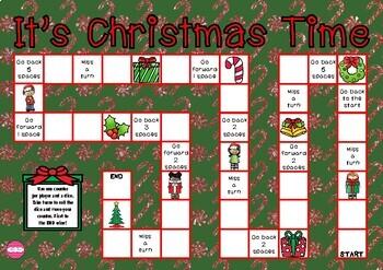 'Tis the Season (Christmas themed game board)