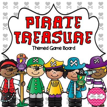 Pirate Treasure (Pirate Themed Game Board)