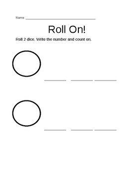 Math Game- Roll on!