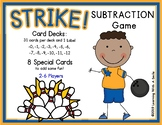 Math Game STRIKE! Subtraction Game