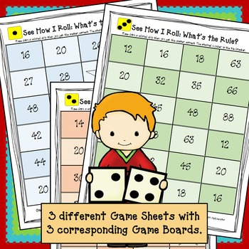Math Game - See How I Roll Dice Game: Multiplication