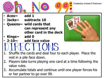 Math Game Set