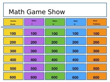 Math Game Show