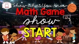 Math Game Show for 3rd Grade