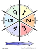 Math Game Spinner