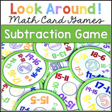 SUBTRACTION GAME Look Around Math Game for Subtraction Fac