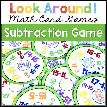 Subtraction Game | Look Around! Math Games