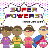 Super Powers (Superhero themed math game board)