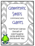 3-Dimensional Shapes Games